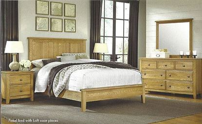 Picture of Artisan Choices- Panel Bedroom w/ Loft Style