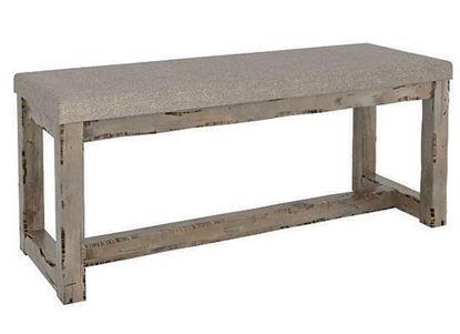 Champlain Rustic Upholstered bench:  BNN05070JA08D18