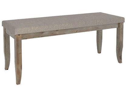 Champlain Rustic Upholstered bench:  BNN04100JA08DPC