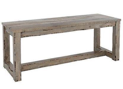 Champlain Rustic Wood bench:  BNN050700808D18