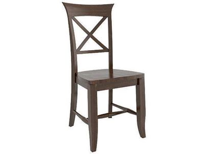 Canadel Transitional Wood Side Chair - CNN012581919MPC