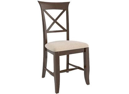 Canadel Transitional Upholstered Side Chair - CNN01258JN19MPC