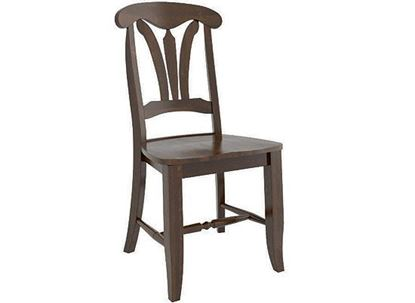 Canadel Transitional Wood Side Chair - CNN021641919MPC
