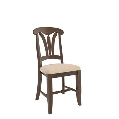 Canadel Transitional Upholstered Side Chair - CNN02164JN19MPC