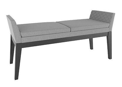 Downtown Mid-century Modern Upholstered Bench - BNN05170TP05MNA