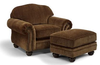 Bexley Chair & Ottoman (8649-10-08)