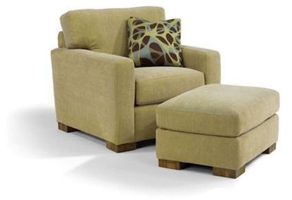 Bryant Fabric Chair & Ottoman (7399-10-08)