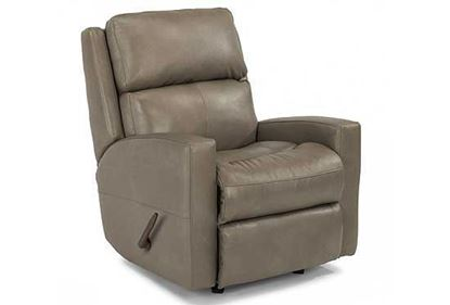 Catalina Swivel Leather Gliding Recliner (3900-53)