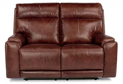 Picture of Sienna Power Reclining Leather Loveseat