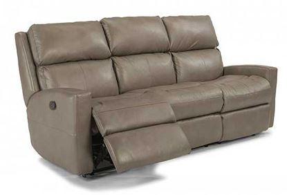 Catalina Leather Reclining Sofa (3900-62)