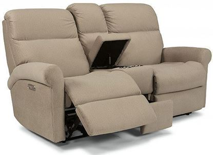 Davis Power Reclining Loveseat with Console (2902-601)
