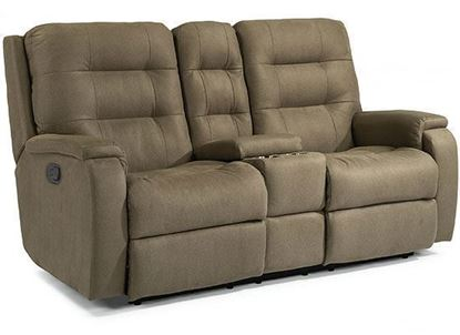 Arlo Reclining Loveseat with Console (2810-601)