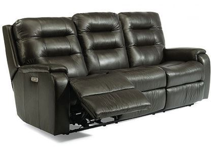 Arlo Power Reclining Leather Sofa (3810-62M) with Power Headrest