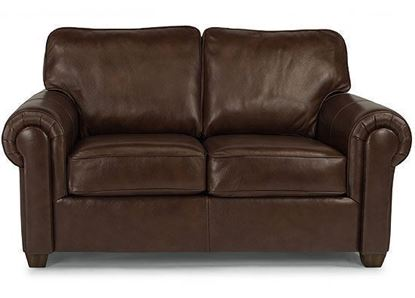Carson Leather Loveseat (B3937-20)