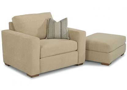 Collins Chair (7107-10) with matching Ottoman