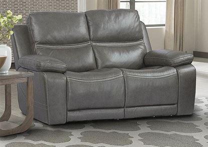PALMER - GREIGE Power Loveseat (MPAL#822PHL-GRG) by Parker House furniture