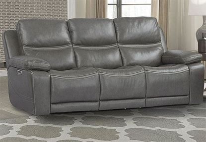 Picture of PALMER - GREIGE Power Sofa
