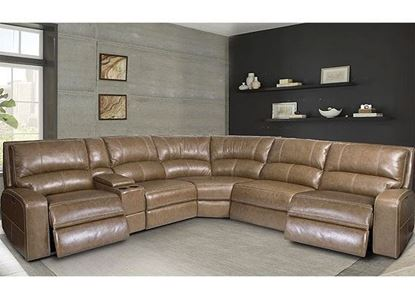 SWIFT Power Reclining Sectional - MSWI-PACKA(H) by Parker House furniture