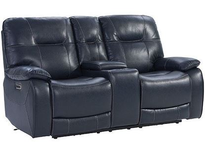 AXEL - Power Console Loveseat MAXE#822CPH by Parker House furniture