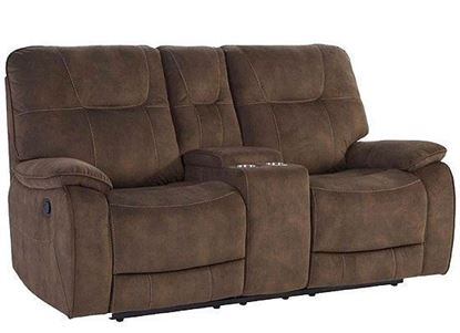 COOPER - SHADOW BROWN Manual Console Loveseat MCOO#822C-SBR by Parker House furniture