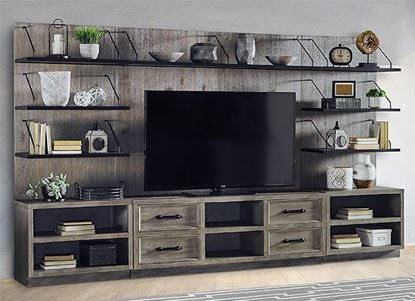 Billboard Entertainment Wall (BIL#68-3) by Parker House furniture