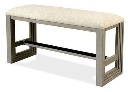 Cascade Counter Dining Bench 73459 by Riverside furniture