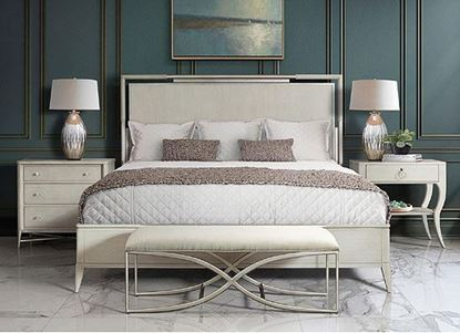 Maisie Bedroom Collection with bed bench by Riverside furniture