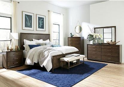 Monterey Bedroom Collection with Bed Bench by Riverside furniture