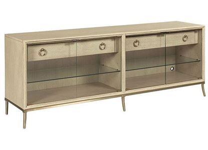 Lenox - Corsica Entertainment Console 923-585 by American Drew furniture