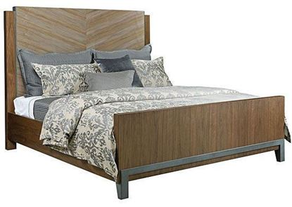 AD Modern Synergy - Chevron Maple King Bed 700-316R by American Drew furniture